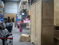 armoire sablée