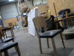 chaise sablée