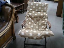 fauteuil avec coussin