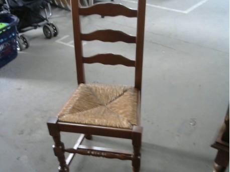 Chaise En Paille Ressourcerie Evin Malmaison