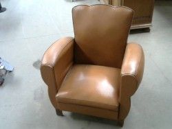 fauteuil en cuir marraon