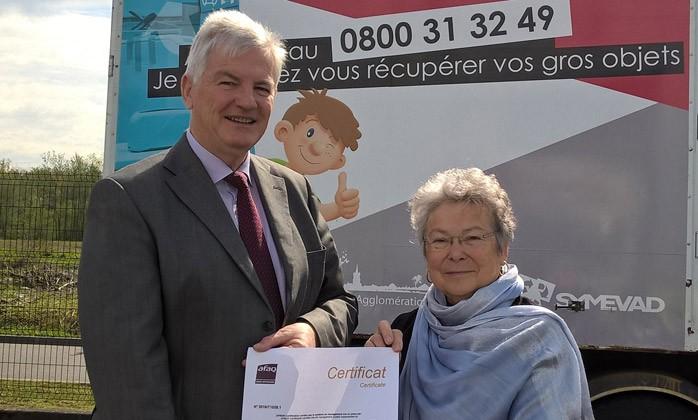 La Ressourcerie d'Evin Malmaison - 1ére Ressourcerie certifiée ISO 9001