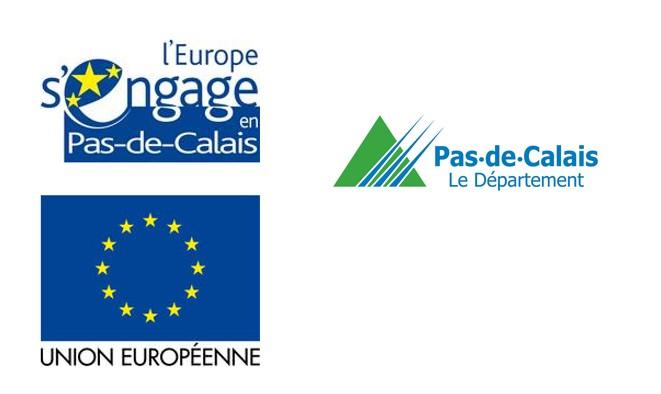 L'association Dynamique Inqsertion Emploi est co financée par le Fond Social européen et le Conseil Départemental du Pas de Calais